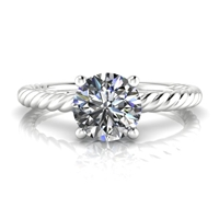 """Ella"" Solitaire Engagement Ring 3/4ct."