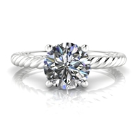 """Ella"" Solitaire Engagement Ring 1ct."