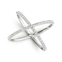 Cosmos Diamond Fashion Ring 1/2ctw.