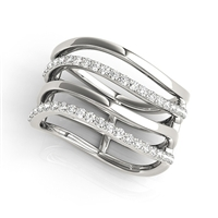 City Stack Diamond Fashion Ring 3/8ctw.