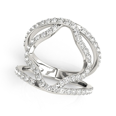 Eclipse Diamond Fashion Ring 5/8ctw.
