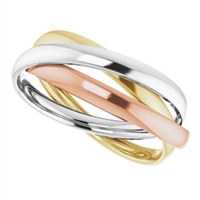 Three Is Never a Crowd, Gold Fashion Ring