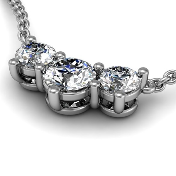 Past present future diamond necklace 12ctw mozeypictures Image collections