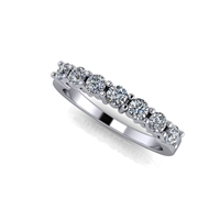 Shared Prong Seven Stone Diamond Band ½ctw.