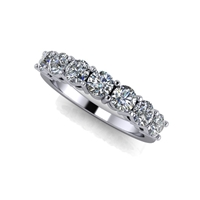 Shared Prong Seven Stone Diamond Band 1 1/5ctw.