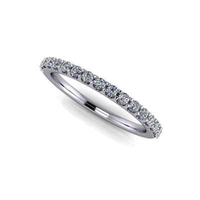 Shared Prong Diamond Band ¼ctw.