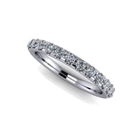15 Stone Shared Prong Diamond Band ½ctw.