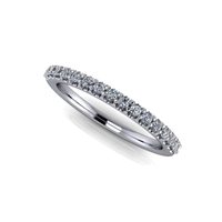 Shared Prong Diamond Band 1/5ctw.