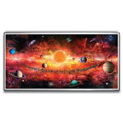 500 Pc Puzzle Of The Solar System, ABW158A