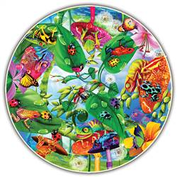 Creepy Critters Round Table Puzzle, ABW372