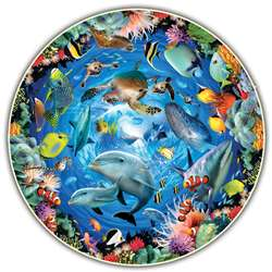 Ocean View Round Table Puzzle, ABW383