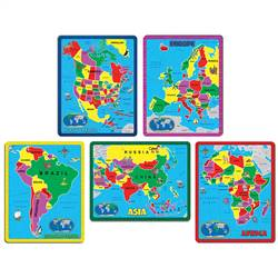 Continent Puzzle Combo Pack, ABW659