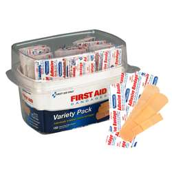 First Aid Only Asst Bandage Box Kit, ACM90095