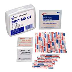 Personal First Aid Kit 13Pc Plastic Case, ACM90101