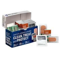 Clean Treat And Protect Wound Care Kit, ACM90967