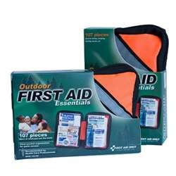 Outdoor First Aid Kit 107Pc Fabric Case, ACMFAO420