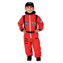 Orange Nasa Astronaut Suit With Embroidered Cap Si, AEAASO68