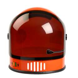 Orange Nasa Youth Astronaut Helmet, AEAASOHELMET