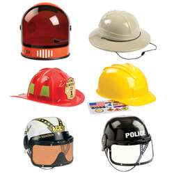 6 Pc Helmet Astronaut Firefighter Armed Forces Pol, AEAHBNB12