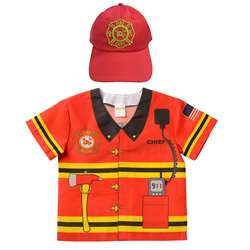 My 1St Career Toddlers Fire Top Cap Gear, AEAMFCGB35
