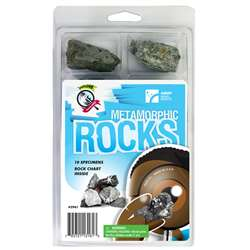 Explore With Me Geology Metamorphic Rocks Set By American Educational