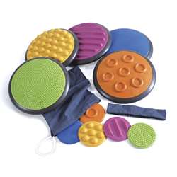 Tactile Discs Set Of 5 By American Educational