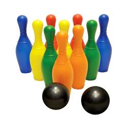 Plastic Bowling Set By American Educational