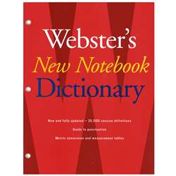 Websters New Notebook Dictionary By Houghton Mifflin
