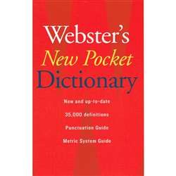 Websters New Pocket Dictionary By Houghton Mifflin