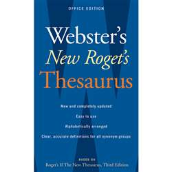 Websters New Rogets Thesaurus Office Edition By Houghton Mifflin