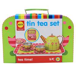 Tin Tea Set By Alex By Panline Usa