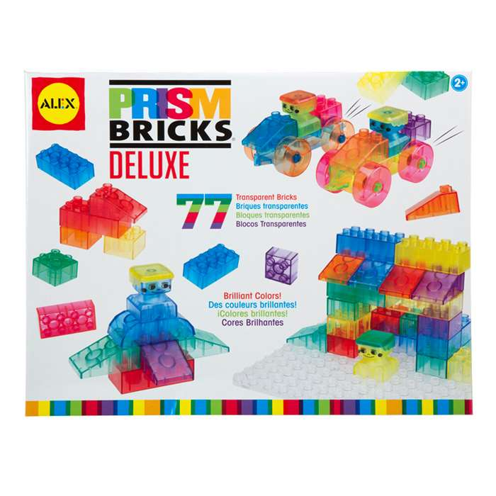 Prism Brick Deluxe Set 84 Pieces By Alex By Panline Usa
