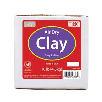 Gray Air Dry Clay, AMA46303C