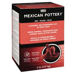 Mexican Pottery Clay 5 Lb. By American Art Clay
