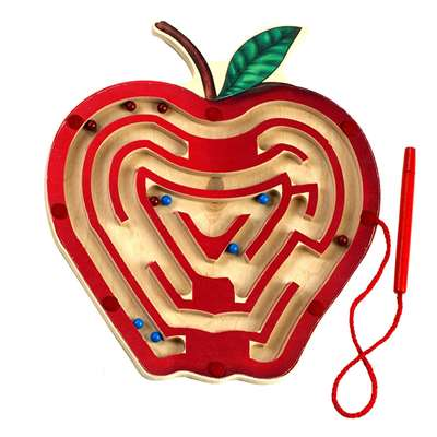 Magnetic Apple Maze By Anatex Enterprises