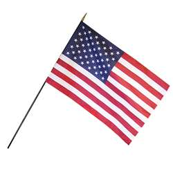 Us Classroom Flags 12X18 By Annin