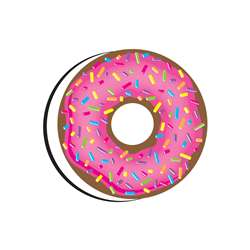Magnetic Erasers Donutfetti Whiteboard, ASH09991