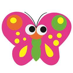 Magnetic Whiteboard Butterfly Erasers By Ashley Productions