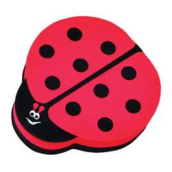 Magnetic Whiteboard Eraser Ladybug By Ashley Productions