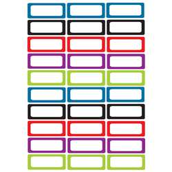 Die Cut Magnets Assorted Solid Color Nameplates, ASH10078
