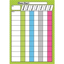 Die Cut Magnets Chore Chart, ASH10089