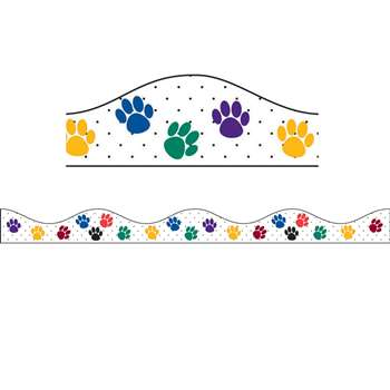 Shop Magnetic Border Color Paws - Ash10176 By Ashley Productions