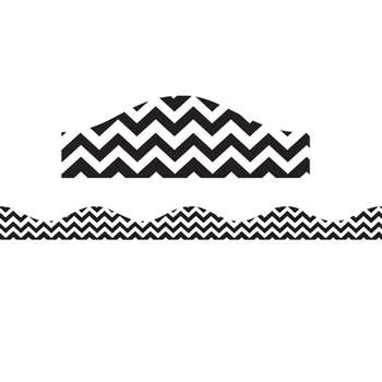 Shop Magnetic Border Black Chevron - Ash10196 By Ashley Productions