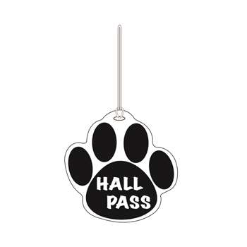 Black Paw Hall Pass 4 X 4 By Ashley Productions