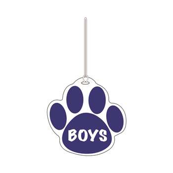 Blue Paw Hall Pass Boys 4 X 4 By Ashley Productions