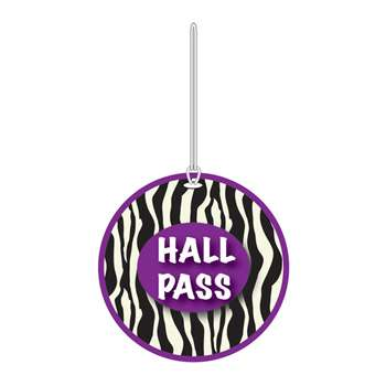 Zebra Hall Pass By Ashley Productions
