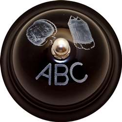 Decorative Call Bell Abc Chalkboard, ASH10519