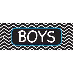 Boys Pass 9X35 Chevron 2 Sided Laminated, ASH10645
