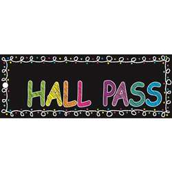 Laminated Chalk Hall Pass, ASH10661