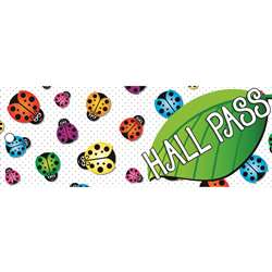 Laminated Ladybug Hall Pass, ASH10667